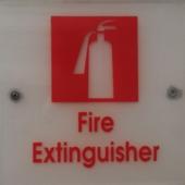 Nhãn cho thiết bị chữa cháy